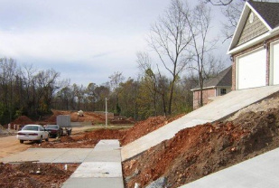 Bay land consulting for Steep driveway construction